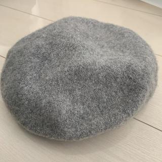 アズールバイマウジー(AZUL by moussy)のベレー帽 グレー(ハンチング/ベレー帽)