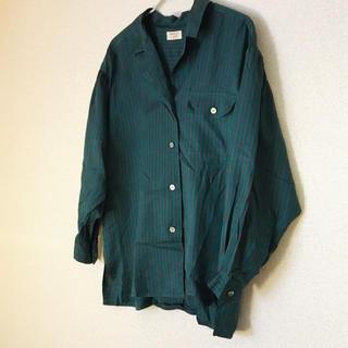 ジバンシィ(GIVENCHY)のジバンシー シルク レトロシャツ(シャツ/ブラウス(長袖/七分))