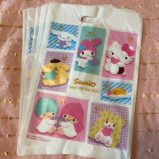 サンリオ(サンリオ)のサンリオ ショップ袋 10枚(ショップ袋)