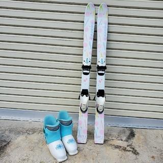110 スキー 19靴+ストック(板)