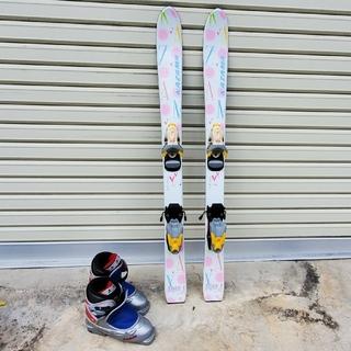 100 cmスキー 18cm靴(板)