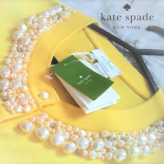 ケイトスペードニューヨーク(kate spade new york)の【新品・未使用】ケイトスペードニューヨーク ケニヤカーディガン XS(カーディガン)