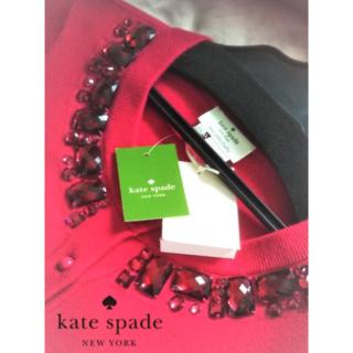 ケイトスペードニューヨーク(kate spade new york)の【新品・未使用】ケイトスペードニューヨーク アマンダカーディガン XS(カーディガン)