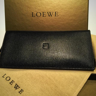 ロエベ(LOEWE)のLOEWE 長財布 ブラック ユニセックス(長財布)