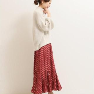 ノーブル(Noble)のNOBLE  COEL 別注コモンプリントスカート(ロングスカート)