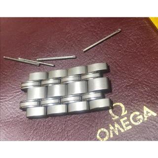 オメガ(OMEGA)の★ OMEGA オメガ シーマスター 20mm幅 4コマ ★未使用 保管品(金属ベルト)