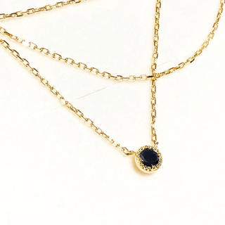 アガット(agete)のアン様専用★agete K18 ブラックダイヤモンド ネックレス 0.08ct(ネックレス)