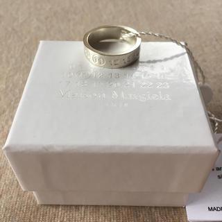 マルタンマルジェラ(Maison Martin Margiela)の19AW新品L メゾンマルジェラ ナンバリング シルバー リング 指輪 メンズ(リング(指輪))
