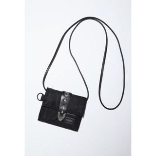 トーガ(TOGA)の【TOGA×PORTER】Shoulder Wallet Black(折り財布)