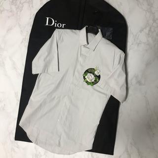 ディオールオム(DIOR HOMME)のdior homme 16ss 薔薇 シャツ(シャツ)