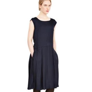 マーガレットハウエル(MARGARET HOWELL)のMARGARET HOWELL シルク ドレス ワンピース(ひざ丈ワンピース)