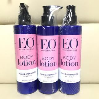 イーオー(EO)のEO ローション 3本(ボディローション/ミルク)