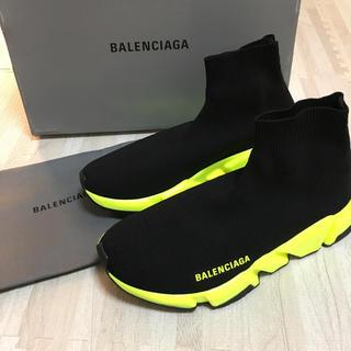 バレンシアガ(Balenciaga)の新品未使用 バレンシアガ   スピードトレーナー イエロー(スニーカー)