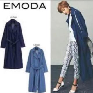 エモダ(EMODA)の【美品】EMODA ♡ デニム トレンチコート(トレンチコート)