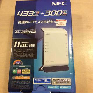 NEC - wifiルーター