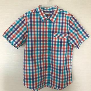 ジーユー(GU)のジーユーチェックシャツ140センチ(その他)