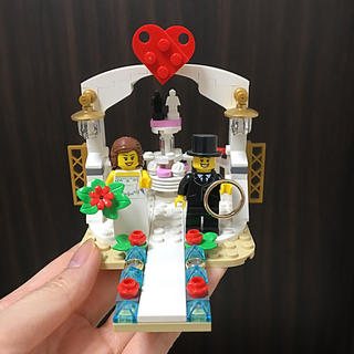 レゴ(Lego)のリングピロー LEGO(リングピロー)