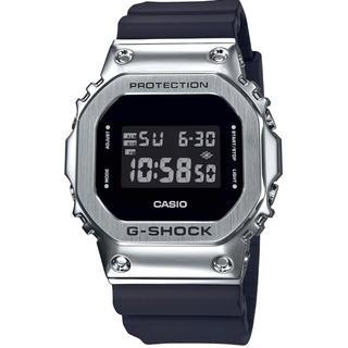 ジーショック(G-SHOCK)の【新品国内正規品】CASIO G-SHOCK GM-5600-1JF シルバー(腕時計(デジタル))