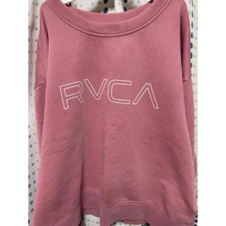 ルーカ(RVCA)のRVCA トレーナー 新品未使用(トレーナー/スウェット)