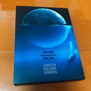 ユニゾンスクエアガーデン(UNISON SQUARE GARDEN)のBee side Sea side 限定版 欠品あり(ポップス/ロック(邦楽))