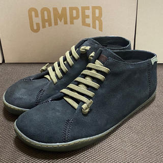 CAMPER - 新品 Camper Peu Cami カンペール ペウカミ レザースニーカー