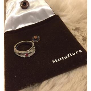 Milluflora シルバーリング 美品(リング(指輪))