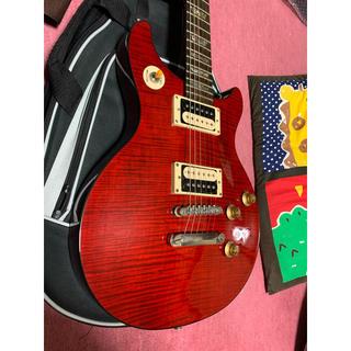 エピフォン(Epiphone)のepiphone Tak DC Standard Plus Top Cherry(エレキギター)