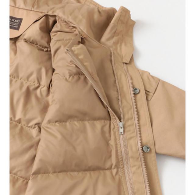 DOORS / URBAN RESEARCH(ドアーズ)のアーバンリサーチドアーズ ダウンライナーマウンテンパーカー ベージュ レディースのジャケット/アウター(ブルゾン)の商品写真