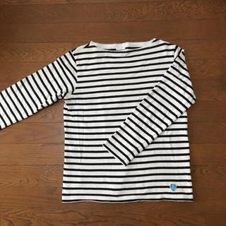オーシバル(ORCIVAL)のオーシバル オーチバル ボーダー バスクシャツ カットソー(カットソー(長袖/七分))
