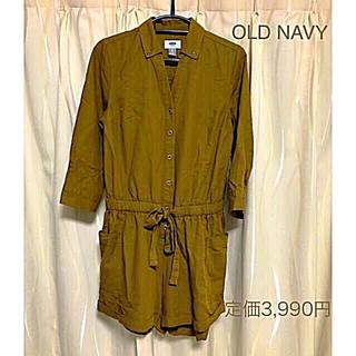 Old Navy - 新品 タグ付き OLD NAVY ショートオールインワン
