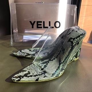 イエローブーツ(Yellow boots)のYELLO KAA WEDGE SANDALS 2019 サイズXL(サンダル)