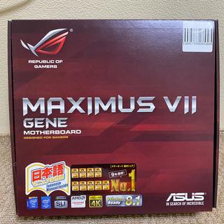 エイスース(ASUS)のMAXIMUS VII GENE core i7 4790k メモリ16GB(PCパーツ)