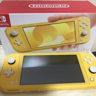 ニンテンドースイッチ(Nintendo Switch)のNintendo Switch Lite イエロー 中古(家庭用ゲーム機本体)