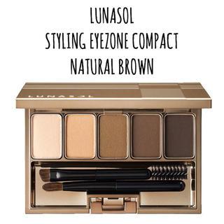 ルナソル(LUNASOL)の【 新品未開封 】01 Natural Brown ルナソル アイブロウパウダー(パウダーアイブロウ)
