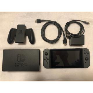 ニンテンドースイッチ(Nintendo Switch)のNintendo Switch ニンテンドースイッチグレー 旧型 任天堂(家庭用ゲーム機本体)