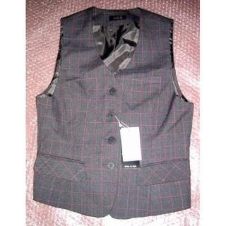 新品 5号 オフィスベスト 事務服 OL制服 小さいサイズT695(ベスト/ジレ)