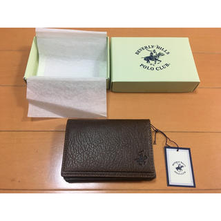 BEVERLY HILLS POLO CLUB(BHPC) - 【新品・未使用】POLO CLUB名刺入れ