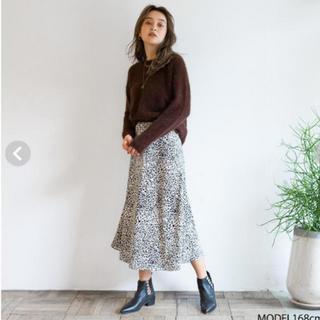 シールームリン(SeaRoomlynn)のSearoomlynn レオパードスカート(ひざ丈スカート)