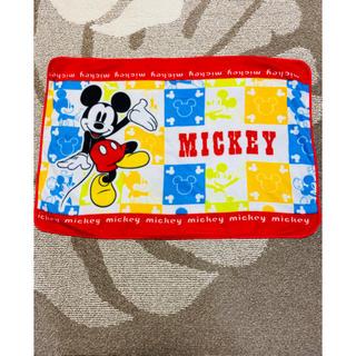 ディズニー(Disney)のひざ掛け ミッキー(毛布)