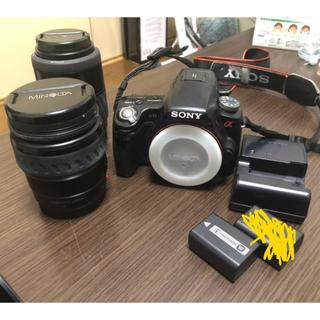 SONY - 今週末まで2000円引き! SONYα33  一眼レフカメラ ダブルレンズキット
