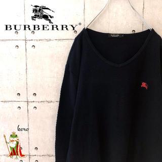 バーバリーブラックレーベル(BURBERRY BLACK LABEL)の【激レア】バーバリー ブラックレーベル ワッフル  サーマル カットソー(Tシャツ/カットソー(七分/長袖))