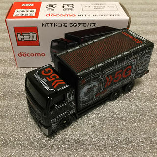 NTTdocomo - トミカ NTTドコモ5Gデモバス(トラック)