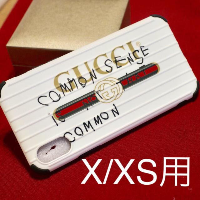 Gucci - iphoneX/XS 用ケース ココキャピタンロゴデザインの通販