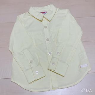 ロデオクラウンズ(RODEO CROWNS)のロデオクラウン★レモン色シャツ110㌢(Tシャツ/カットソー)