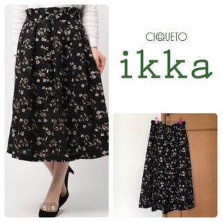 ikka - ikka ★ プリントスカート