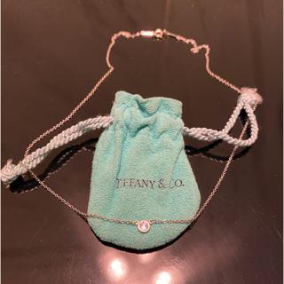ティファニー(Tiffany & Co.)の新品未使用★Tiffany 0.4ct. ダイアモンド•プラチナ ネックレス★(ネックレス)