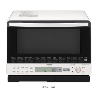ヒタチ(日立)の日立 スチームオーブンレンジ ヘルシーシェフ MRO-S8X-W 新品未使用(電子レンジ)