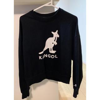 カンゴール(KANGOL)のkango-ru♡黒トレーナー(トレーナー/スウェット)