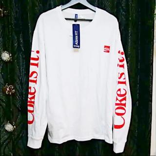 シュプリーム(Supreme)のCoca-ColaBOXロゴCoke×DIVIDEDH&MロングTシャツXL新品(Tシャツ/カットソー(七分/長袖))