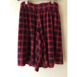 フェリシモ(FELISSIMO)のキュロットスカート(ひざ丈スカート)